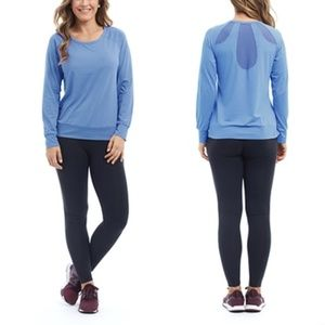 Marika Tops - NWT Performance Top Long Sleeve Mesh Back